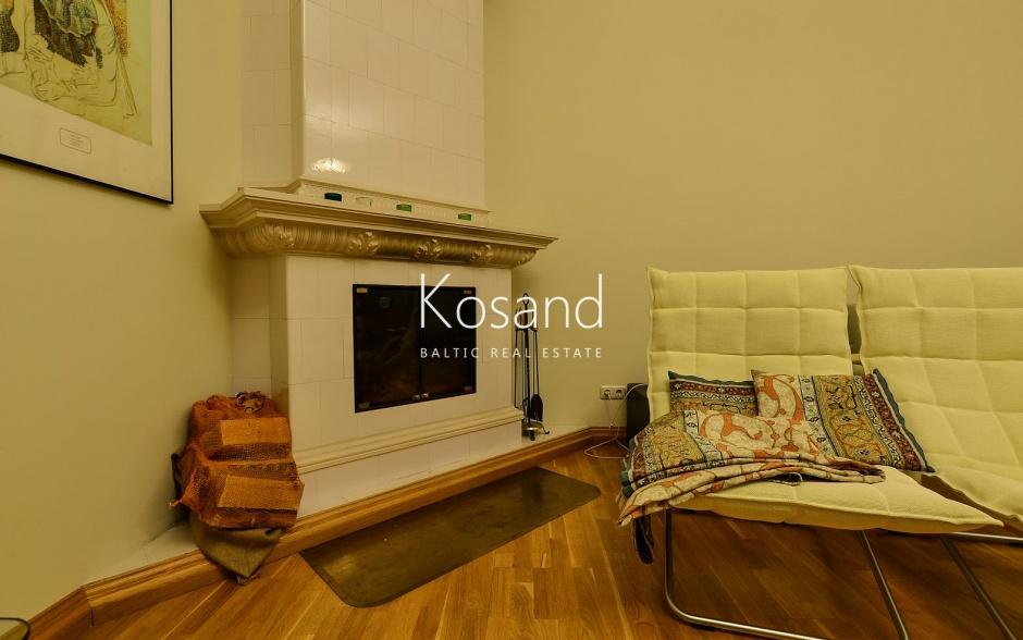 Элегантная квартира в тихом центре Риги