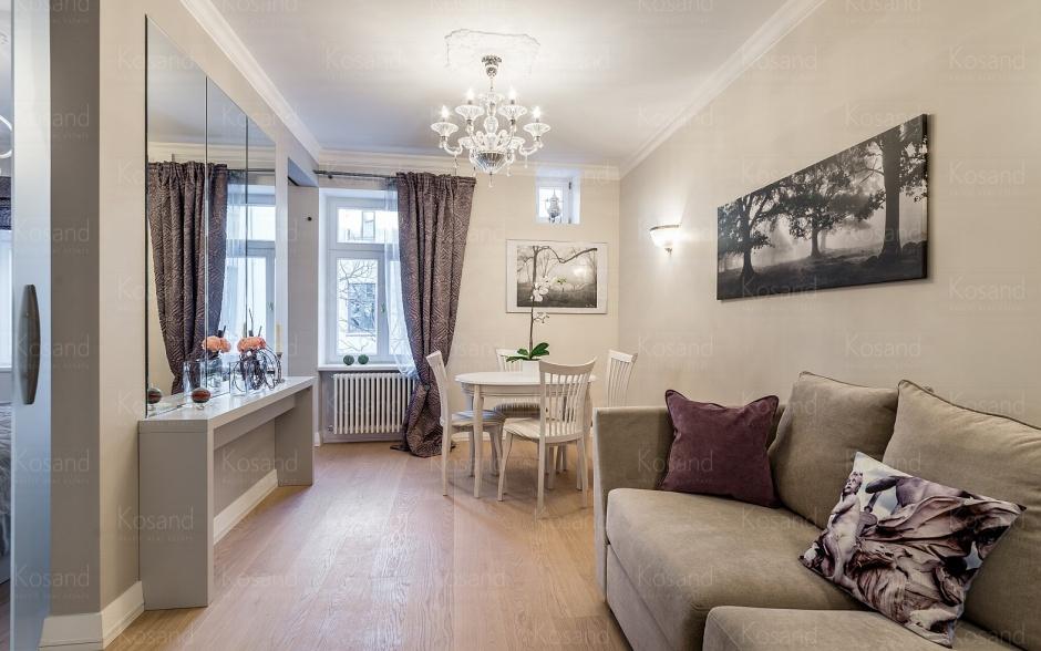 Современные квартиры в Тихом центре Риги