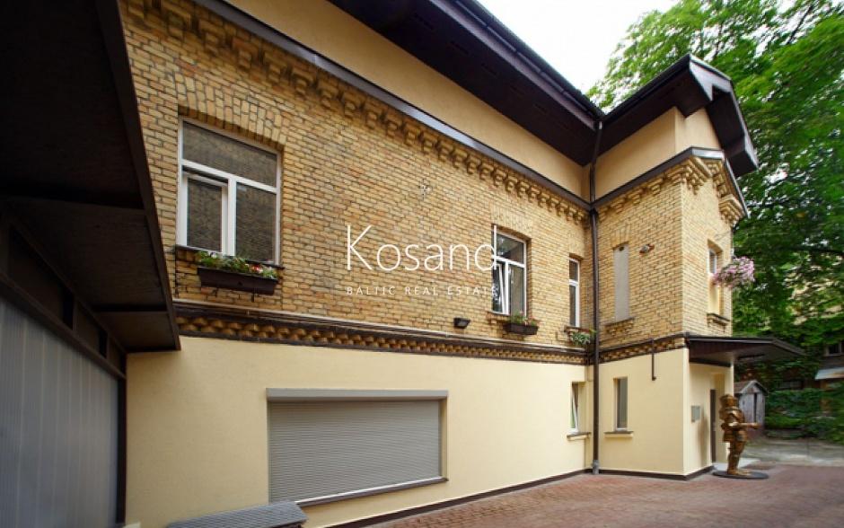 Частный дом в центре Риги