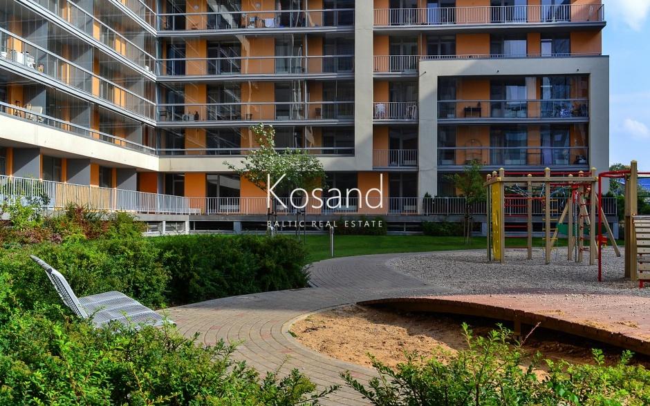 Новый жилой квартал рядом с центром Риги