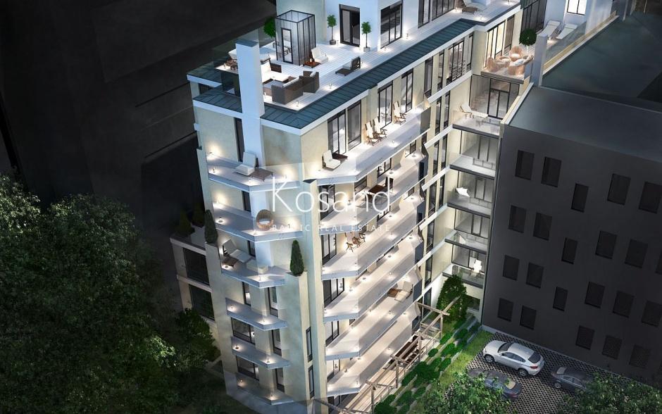 Трехкомнатная квартира с террасой на ул. Элизабетес