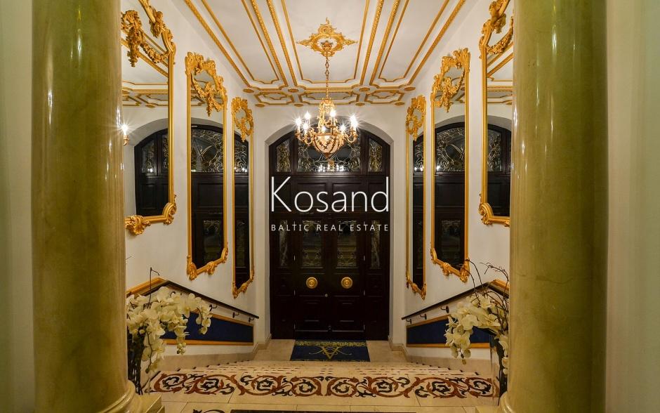 Aleksandra apartments - элитный клубный дом в Тихом центре Риги