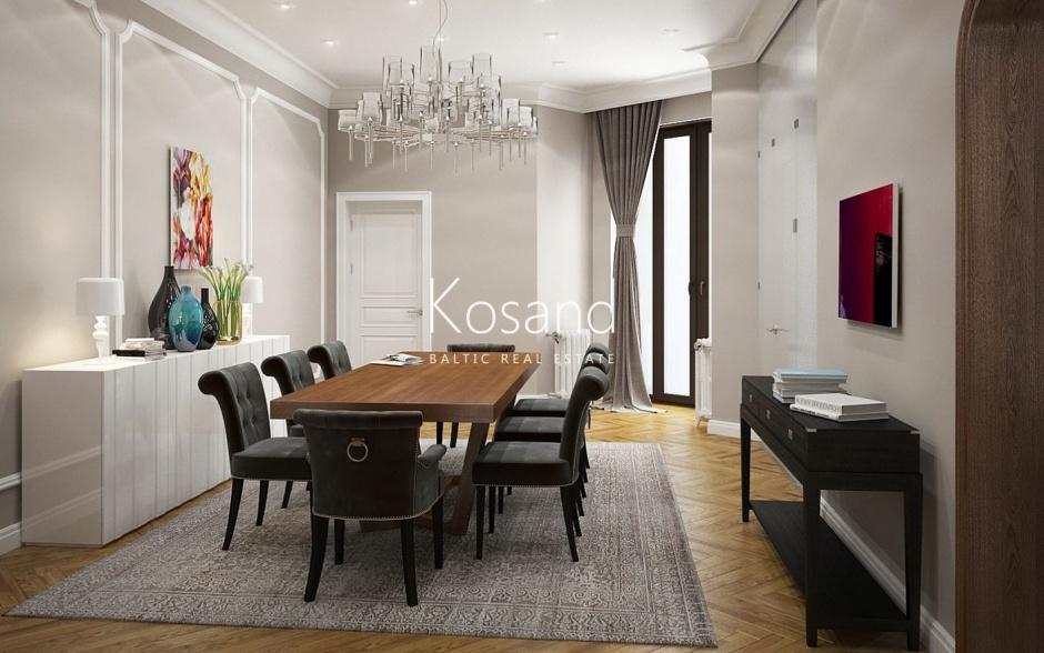 Элитные квартиры в Тихом центре Риги
