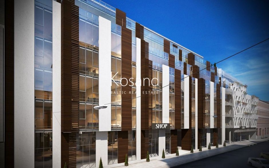 Новый жилой комплекс в Риге
