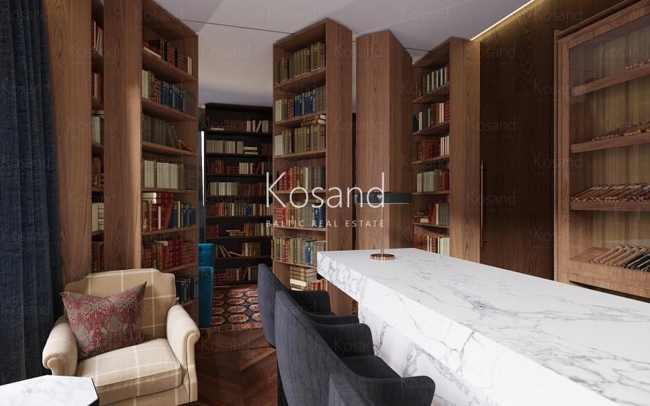 Квартиры на покупку с полной отделкой в Риге