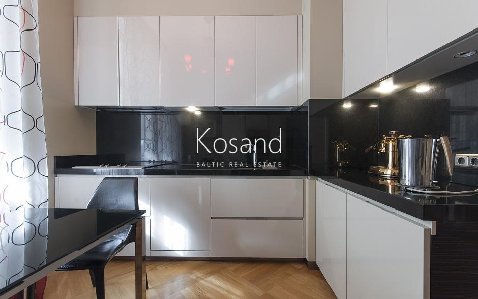 Эксклюзивная квартира в Тихом центре Риги