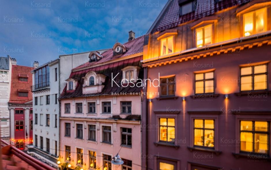 Квартира с видом на старый город