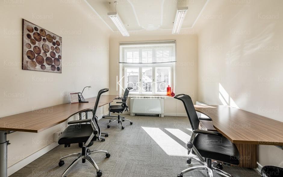 Современный офис в реконструированном здании