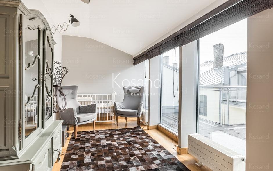 Двухуровневая квартира на аренду в Риге