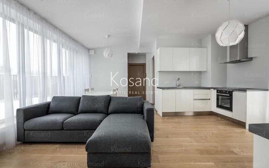 Снять квартиру в Риге с двумя террасами