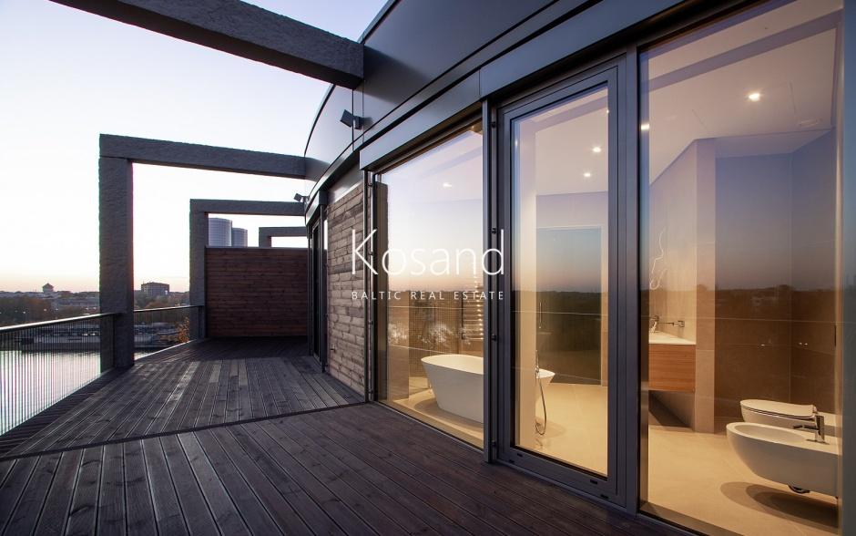 Квартира с видом на Ригу