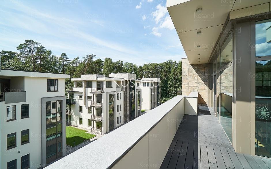 Квартира на покупку в Юрмале с большой террасой