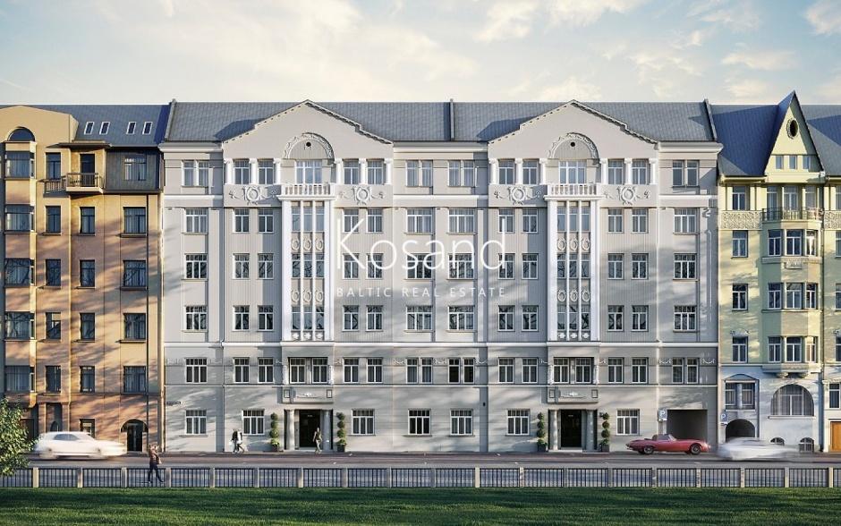Квартира в историческом, реконструированном здании