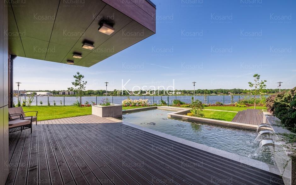 Снять современный дом у реки Лиелупэ